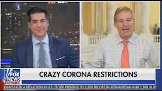 Jim Jordan on New COVID Lockdowns