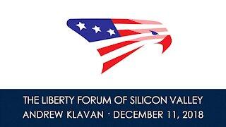 Andrew Klavan ~ The Liberty Forum ~ 12-11-2018