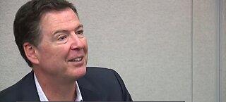 Former FBI Director James Comey speaks at UNLV