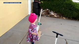 Local couple creates candy launcher