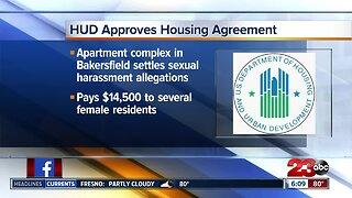 HUD settles sexual harassment allegations