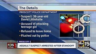 Sex assault suspect taken into custody in Prescott