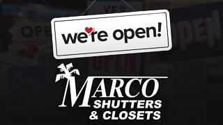 We're Open Omaha: Marco Shutters & Closets
