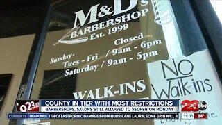 Local barbershop prepares to reopen indoor operations