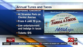 4th Annual Tunes and Tacos event in Bakersfield