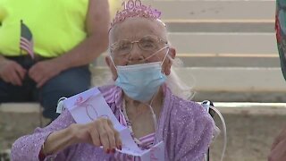 Valley WWII Army veteran turns 100 years old