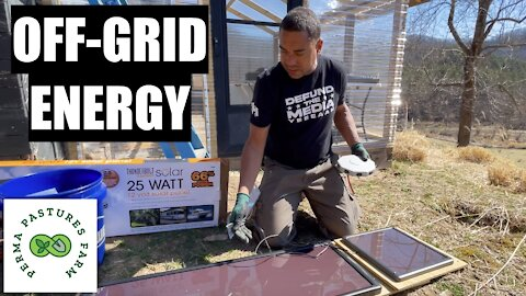 Adding Solar Panels To OFF-GRID Energy Supply