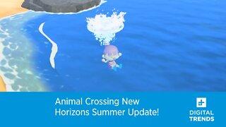 Animal Crossing New Horizons Summer Update!
