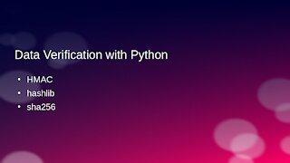 Data Verification with Python (Ep. 10)