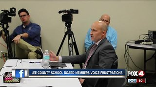 Lee County School Board speak out, following letter questioning Superintendent Adkins's ability to lead