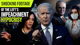 Shocking Footage of the Left's Impeachment Hypocrisy and Threats
