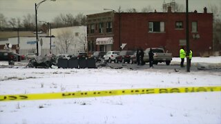 Three people killed in crash in Buffalo's Genesee Moselle neighborhood Monday afternoon