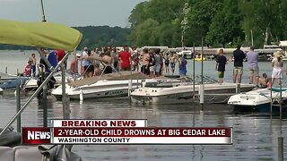 2-year-old Washington County boy dies after being found unresponsive in lake