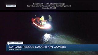 Dodge Co. deputies rescue man from freezing lake