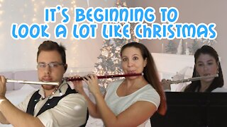 It's Beginning to Look A Lot Like Christmas Flute Trio | Flute Christmas Music