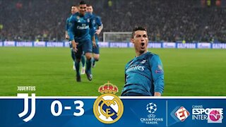 Real Madrid X Juventus: best moments