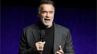 Arnold Schwarzenegger Kicked In The Back, Is Unphased