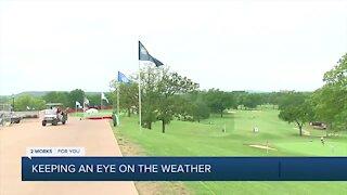 Senior PGA organizers prepare for weather