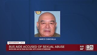Peoria bus aide arrested on sexual abuse charge