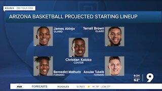 Arizona Basketball shaking up its starting lineup