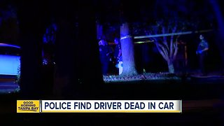 Police investigating after man found dead in car