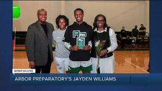 WXYZ Senior Salutes: Arbor Preparatory High School's Jayden Williams