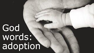 God words: adoption