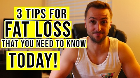 Lose Weight FAST   3 Tips To Help You Stick To Your Diet (2018)