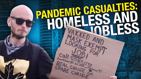 Homeless and jobless due to the pandemic, this man doesn't want handouts — just a job, any job