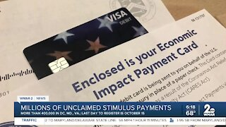 Millions of unclaimed stimulus payments