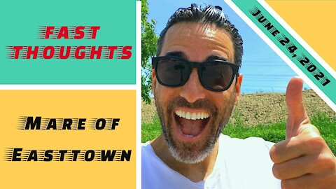 FAST THOUGHTS: Mare of Easttown...a limited series on HBO...