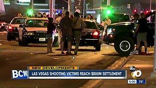 Las Vegas shooting victims reach settlement
