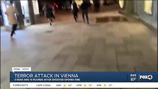 Shooting in Vienna Austria