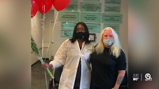 Palm Beach Gardens woman says platelet donation saved her life