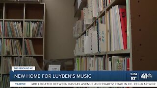 New home for Luyben's Music