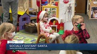 YMCA allows Santa to visit kids virtually