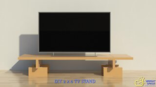 DIY TV Stand | Build with 2X6 Lumber