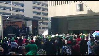 ANCWL holds separate march to protest gender-based violence (VS6)