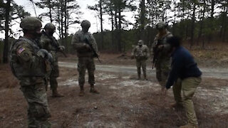 Civil Affairs Soldiers Conduct CIED Training B-roll