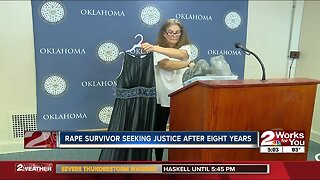 Rape survivor seeking justice after eight years