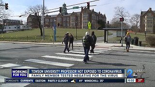 Maryland patient being tested for coronavirus tests negative