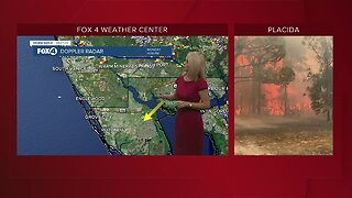 Brush fire now contained in Charlotte County