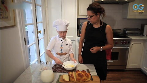Making The Best French Toast Ever With Chef Peter!