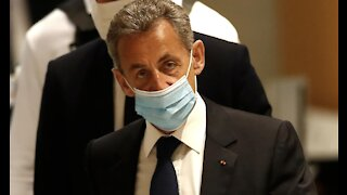 Former French President Nicolas Sarkozy sentenced to jail in historic ruling