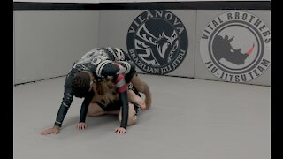 Closed Guard to Back
