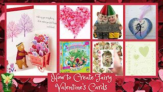 Teelie's Fairy Garden | How to Create Fairy Valentine's Cards | Teelie Turner