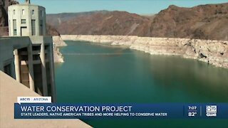Water conservation project draws help from state and tribal leaders