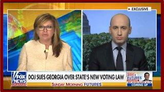 Stephen Miller: DOJ sues Georgia Over State's New Voting Law - 2168
