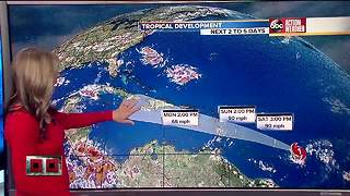 Tropical Depression Three forms in the Atlantic