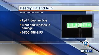 Man struck and killed by hit-and-run vehicle in West Palm Beach